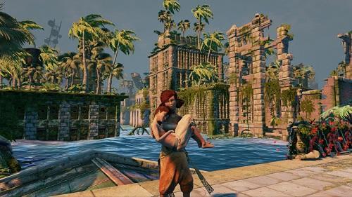 非戦闘系探索ゲーム「Submerged」